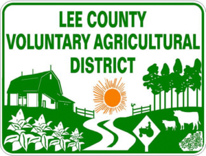 Lee County Voluntary Agricultural District logo