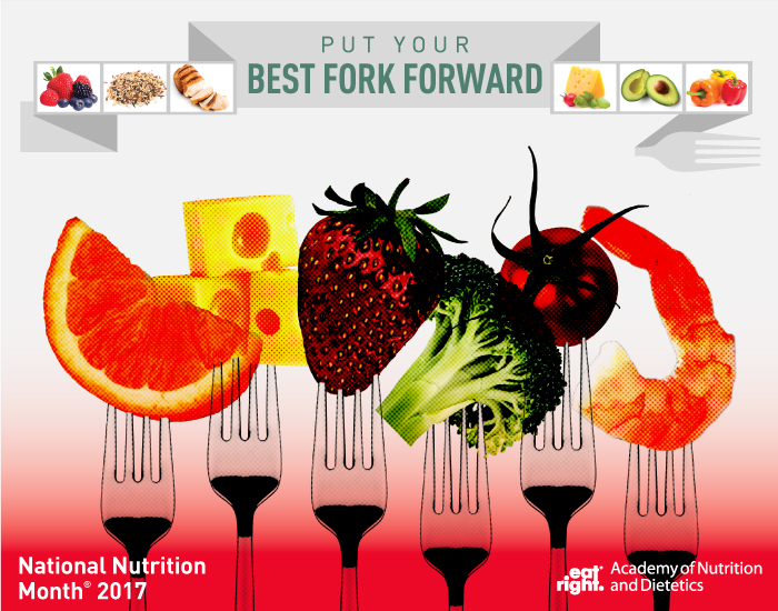 For National Nutrition Month Academy Of And Dietetics Says Put Your Best Fork Forward When Dining Out