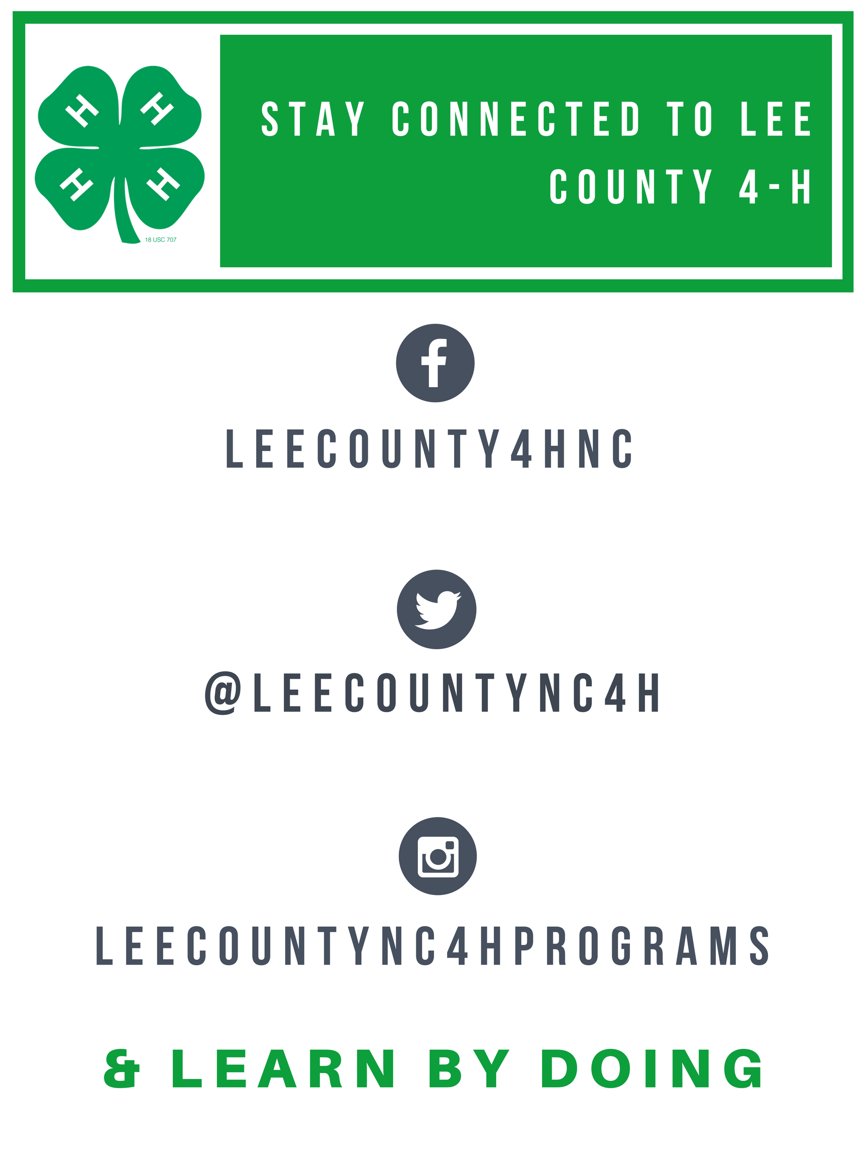 Lee County 4-H Logo image