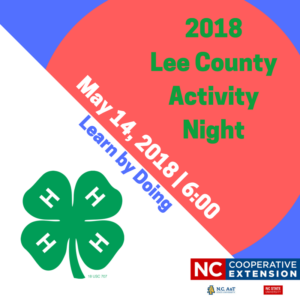 Lee County Activity Night flyer image