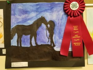 photo of 2nd place middle school winner