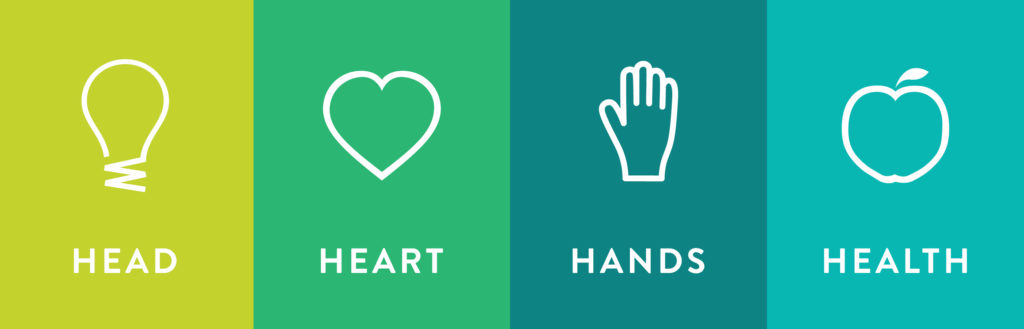 head heart hands health logo
