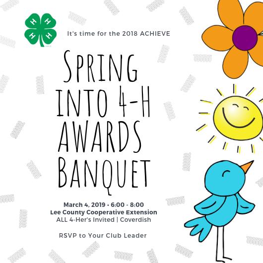 awards banquet invitation