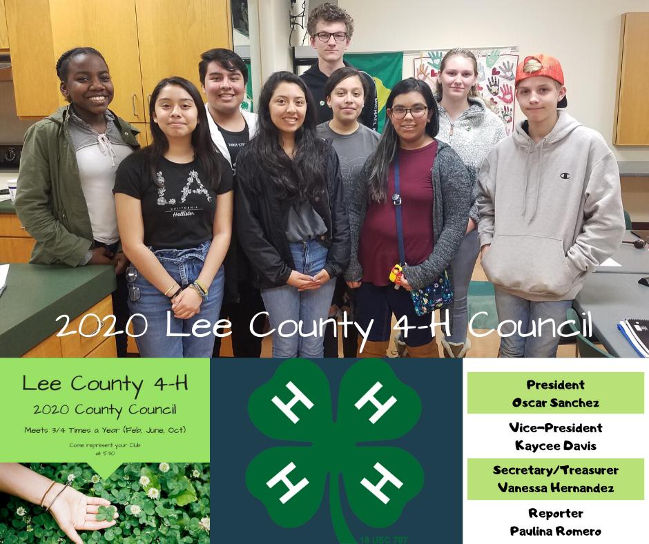 2020 teen county council photo