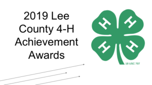 2019 Lee County Achievement Awards
