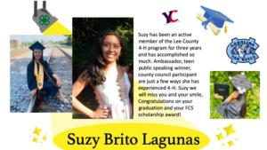 Suzy graduation photo
